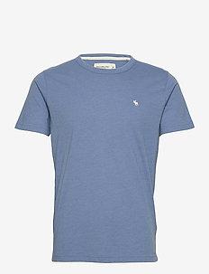 ANF MENS KNITS - t-shirts basiques - blue
