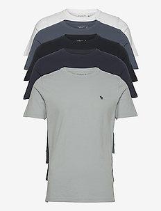 ANF MENS KNITS - basic t-shirts - blue pack