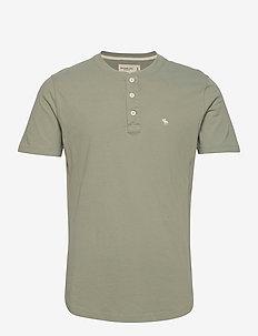 ANF MENS KNITS - t-shirts basiques - green