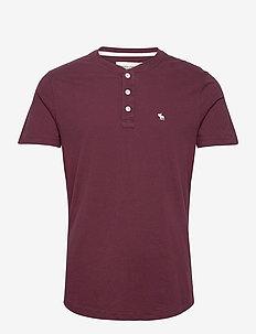 ANF MENS KNITS - t-shirts basiques - red