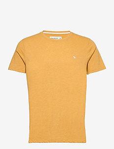 ANF MENS KNITS - basis-t-skjorter - yellow dd