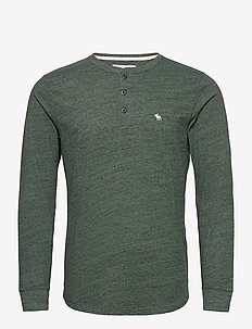 ANF MENS KNITS - basis-t-skjorter - green dd