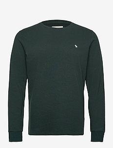 ANF MENS KNITS - basic t-shirts - green dd