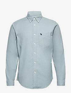 Oxford Button-Up Shirt - basic skjortor - lime dd