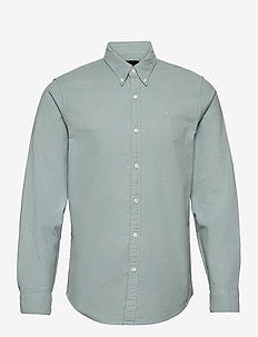 SIGNATURE SOLID OXFORD - basic overhemden - lime dd