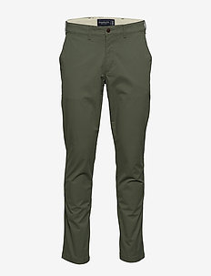 Pants - chinos - olive dd
