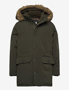 ANF MENS OUTERWEAR - parkas - olive