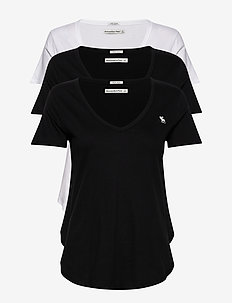 Vneck Multipack - basic t-shirts - white