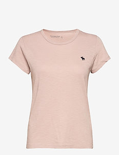 ANF WOMENS KNITS - t-shirts - light pink dd