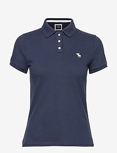 Polo - basic t-shirts - med blue dd