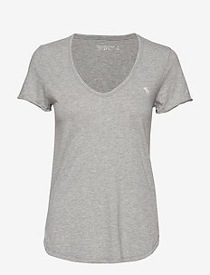 Icon Tee - MED GREY SD/TEXTURE