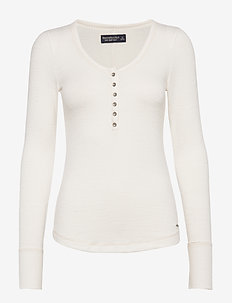 Cozy Henley - WHITE
