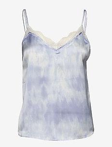 Strap Cami Wash - LIGHT BLUE PATTERN