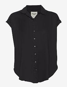 Shirt - kortermede skjorter - black dd