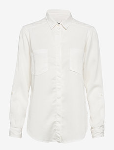 Long and Lean Shirt - WHITE