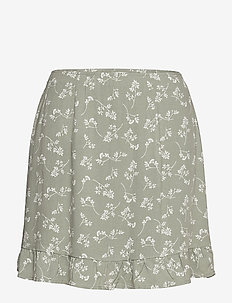 ANF WOMENS SKIRTS - korte nederdele - green floral