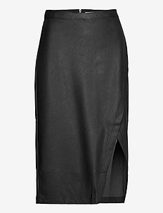 ANF WOMENS SKIRTS - midi-röcke - black dd