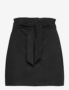 ANF WOMENS SKIRTS - korta kjolar - black dd