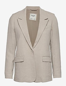 ANF WOMENS OUTERWEAR - casual blazer - flax