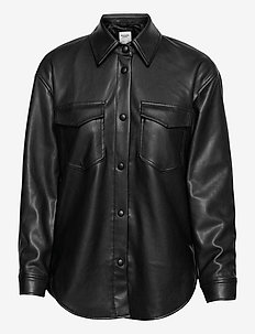 ANF WOMENS OUTERWEAR - overshirts - black