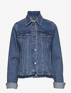 Classic Denim Jacket - farkkutakit - light blue dd