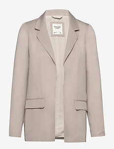 Tencel Blazer - blazers - cream