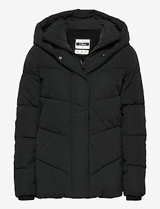 ANF WOMENS OUTERWEAR - toppatakit - black dd