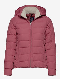 Packable Puffer Coat - PURPLE DD
