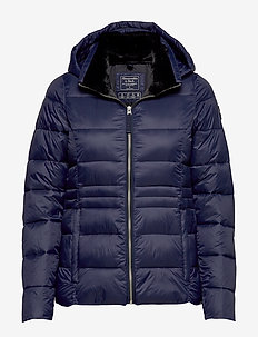 Packable Puffer Coat - NAVY DD