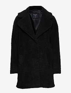 Teddy Coat - BLACK DD