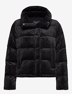 Mini Puffer - padded jackets - black sd/texture