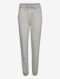 Logo Banded - sweatpants - med grey sd/texture