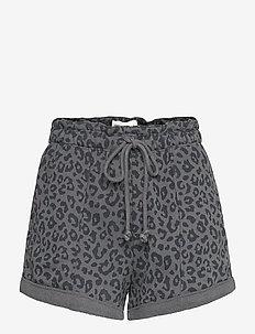 ANF WOMENS SHORTS - casual shorts - asphalt leopard