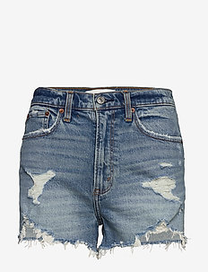 Shorts - jeansowe szorty - medium destroy