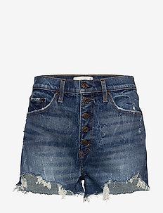Shorts - jeansowe szorty - dark