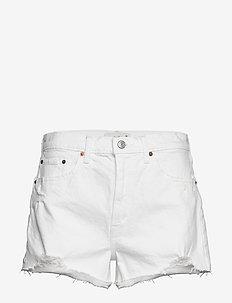 Shorts - jeansowe szorty - white