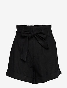 Shorts - paper bag shorts - black dd