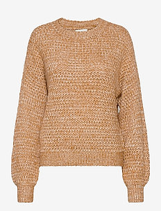 ANF WOMENS SWEATERS - pullover - light brown pattern