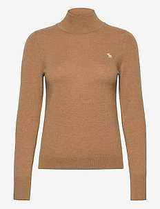 ANF WOMENS SWEATERS - poolopaidat - med brown dd
