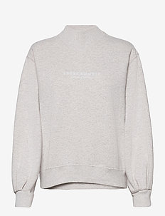 ANF WOMENS SWEATSHIRTS - sweats - grey