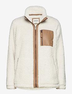 ANF WOMENS SWEATSHIRTS - sweatshirts - white