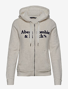 Sherpa Linded Logo Full-Zip - LIGHT GREY SD/TEXTURE