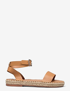 ANF WOMENS ACCESSORIES - flade espadrillos - camel