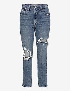 ANF WOMENS JEANS - boyfriend jeans - medium destroy