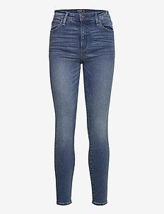 ANF WOMENS JEANS - skinny jeans - medium destroy