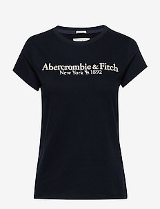ANF WOMENS GRAPHICS - t-shirts - navy dd