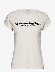 ANF WOMENS GRAPHICS - t-shirts - white