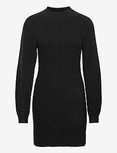 ANF WOMENS DRESSES - midiklänningar - black dd