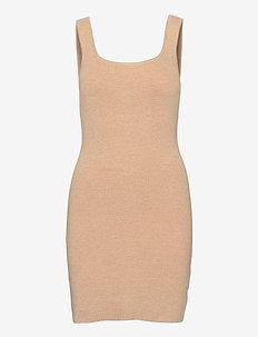 ANF WOMENS DRESSES - midi kjoler - light brown dd