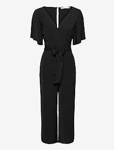 ANF WOMENS DRESSES - haalarit - black dd